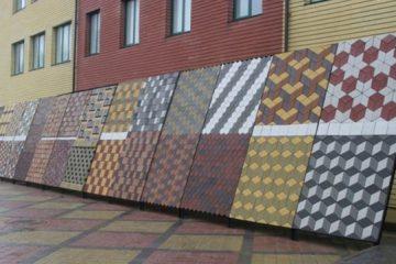 Готовый бизнес-план производства тротуарной плитки методом вибролитья и вибропрессования