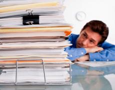 Акт приема-передачи бухгалтерских документов