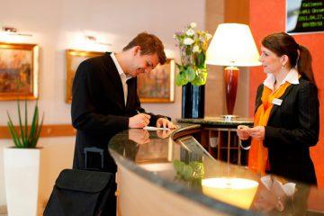 Анкета лица, прибывшего в гостиницу
