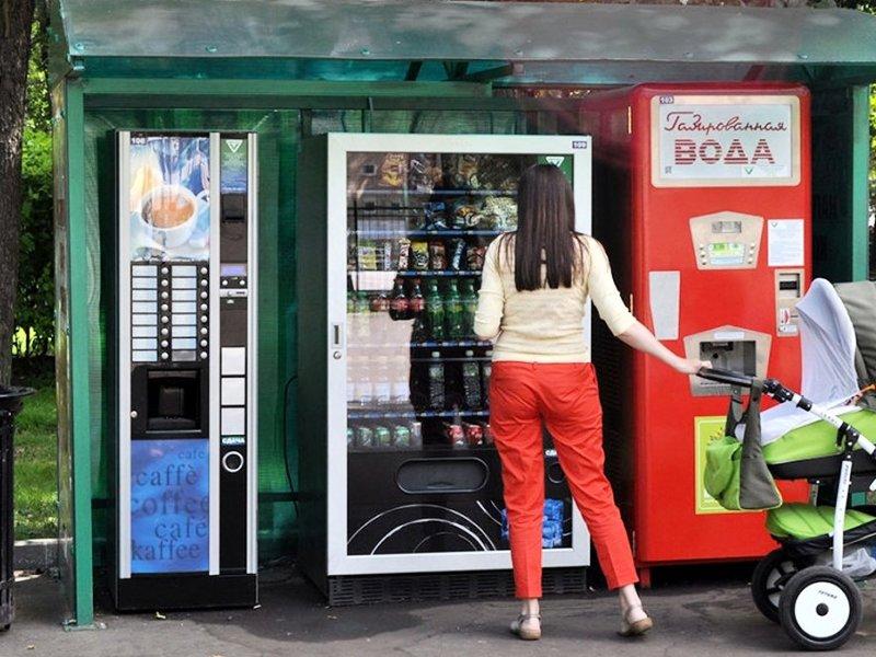 Лучшие места для размещения торгового автомата