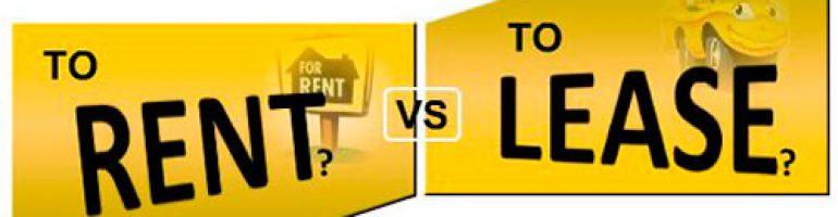 Что выбрать лизинг или аренду