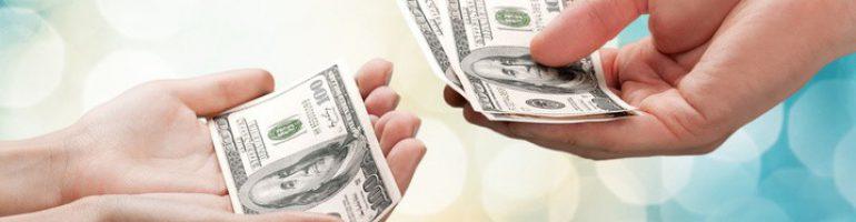 Расписка о передаче денежных средств