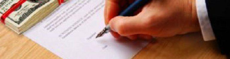 Расписка о получении денег по договору