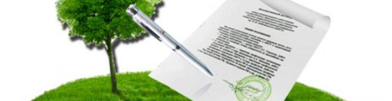 Заявление на получение земельного участка