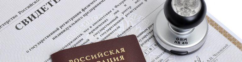 Заявление о госрегистрации ИП